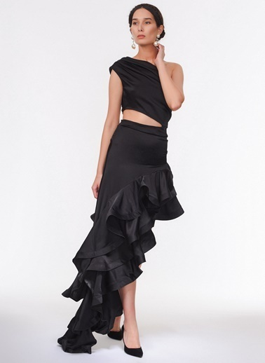 Davet Çok Elbisem Yok Elbise Siyah